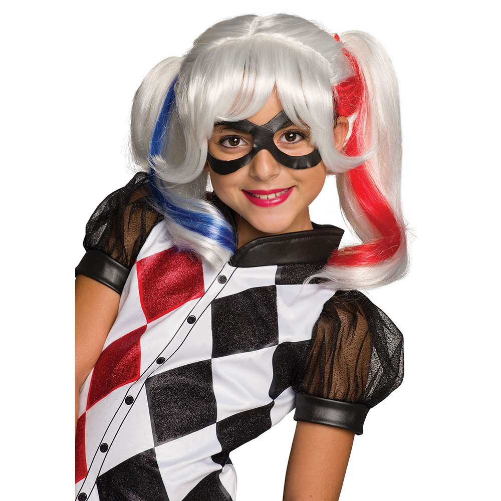 Wig Carnival DC Super Hero Girls Harley Quine dc super hero girls harley quinn's spooky sticker activity book