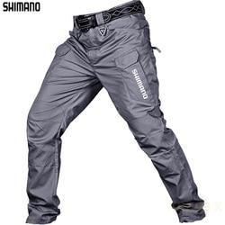 2021 New Shimanos 봄 여름 얇은 낚시 바지 남성 다이와 방수 통기성 빠른 건조 낚시 바지 낚시 의류