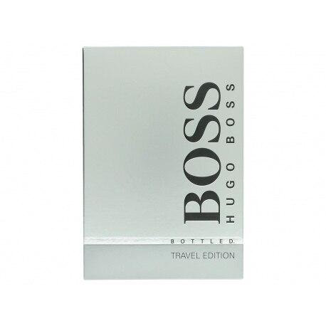 BOSS BOTTLED EDT 100ML SPRAY + SHOWER GEL 100ML TRAVEL EDITION