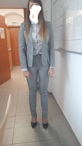 Female Elegant Business Uniform 2 Piece Set Pant Suits for Ladies Women's Business office Work Wear Blazers Trouser Sets Jacket reviews №2 132503