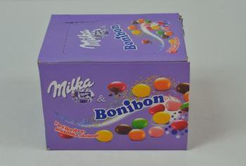 Milka Bonibon 24 3 gr X 24 pakowane czekolady pyszne pyszne czekolady tanie i dobre opinie Mężczyzna 12 + y DE (pochodzenie)