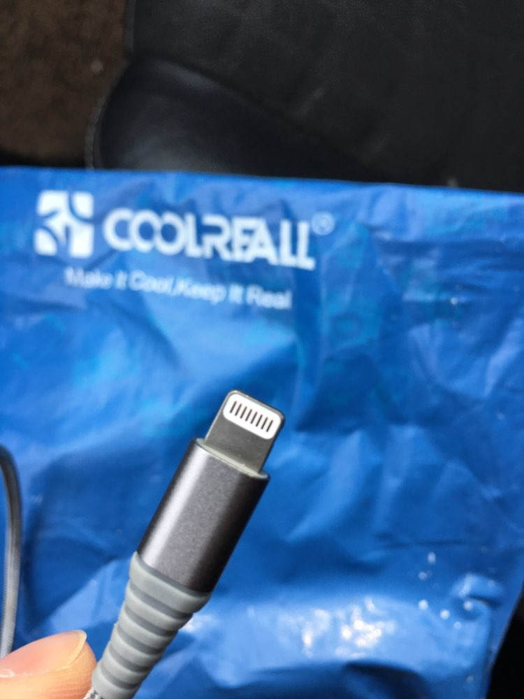 Coolreall MFi Lightning USB Cable For iPhone X 8 7 6S 6 Plus 5S SE 5 Fast Charging For iPhone Charger Cable Mobile Phone Cables-in Mobile Phone Cables from Cellphones & Telecommunications on AliExpress