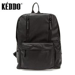 Men's backpack black keddo