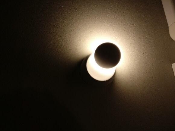 -- Lâmpada Parede Rotação