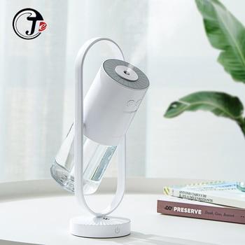 Magic Negative Air Ion Humidifier 200ML Ultrasonic Essential Oil Diffuser Cool Mist Air Purifier 7 Color Lights humidificador