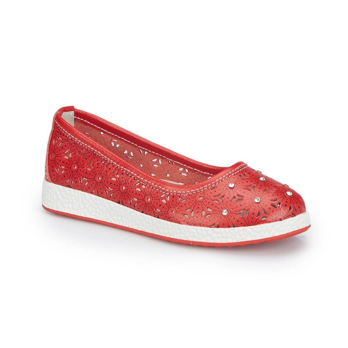 FLO 81. 510097.F Red Female Child Ballerina Polaris