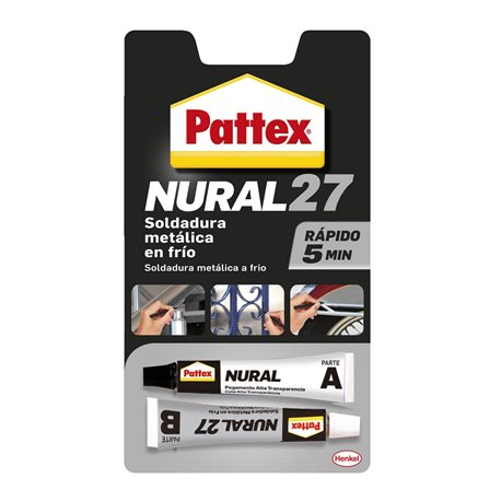 WELDING REP. METAL 22 ML GR COLD RAP NURAL-27 PATTEX