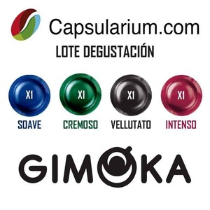 Batch Tasting Gimoka®Professional compatible with Nespresso Pro®4 capsules