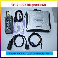 Zestaw diagnostyczny DLA JCB elektroniczne narzędzie serwisowe ServiceMaster V1.73.3 + Toughbook CF19 komputer
