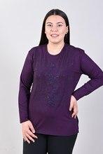 Women's Fronting Flowering Damson Blouse 2021