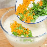 蔬菜大米饼 宝宝辅食食谱的做法图解8