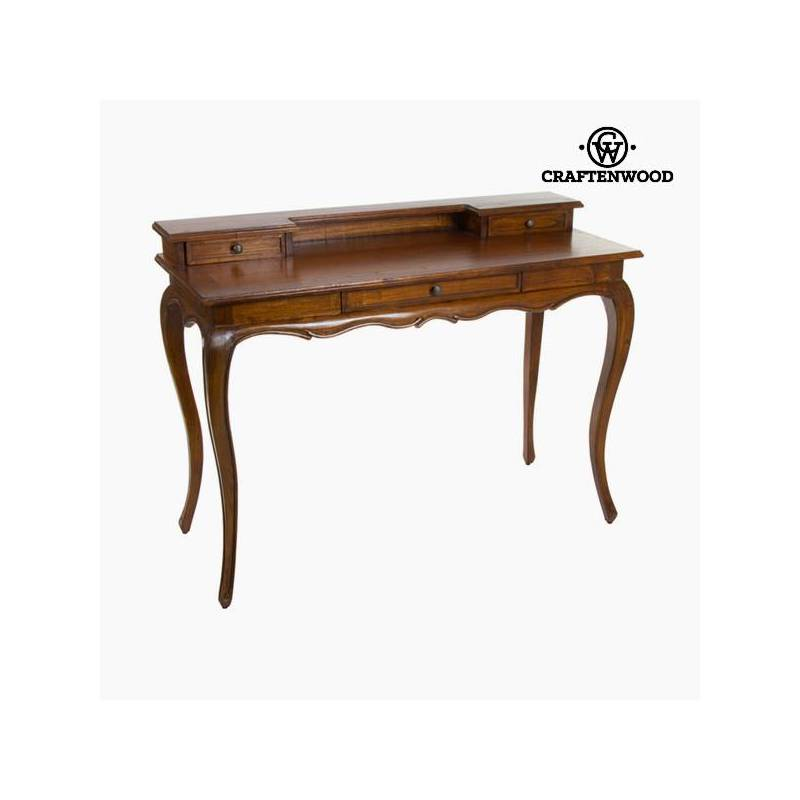 Walnut Desk-Collection Serious Line By Craftenwood