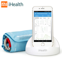 Tonometer Xiaomi iHealth Arm Blood Pressure Monitor Smart Upper With Cuff Automatic Electronic Sphygmomanometer For IOS &Android
