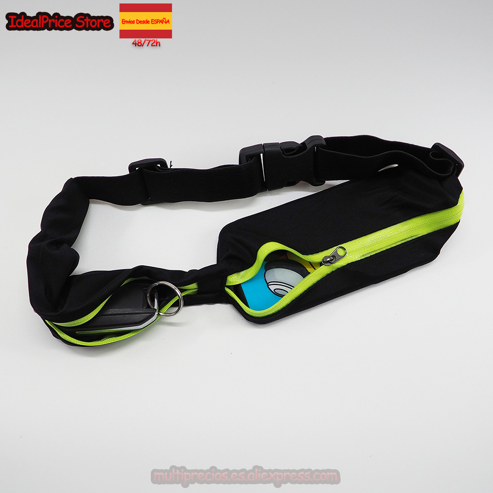Sport®Small Bag Nylon Cloth With Belt Double Pocket Fashion For Men And Women Free 72-90 Cm