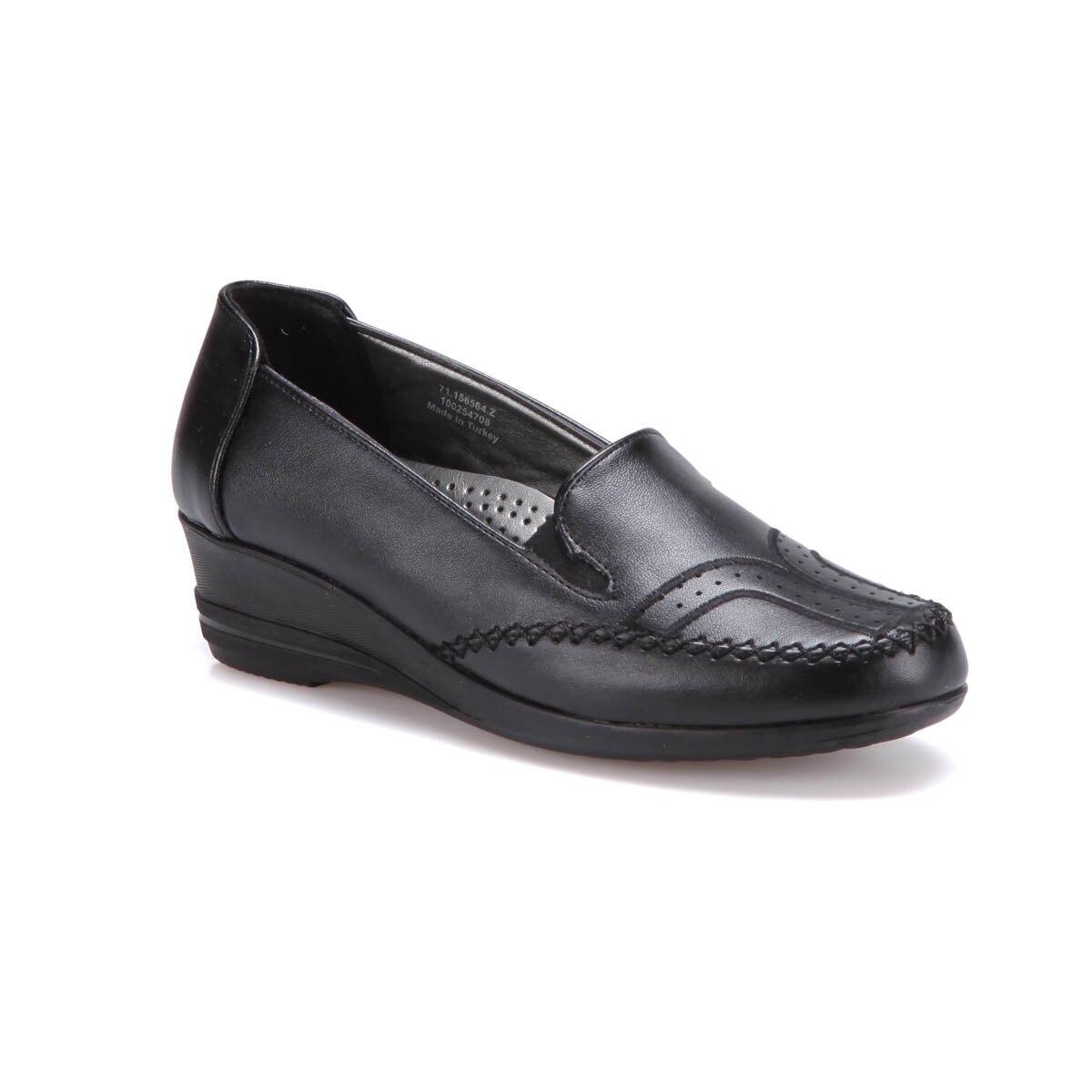 FLO 71.156564.Z Black Women 'S Classic Shoes Polaris