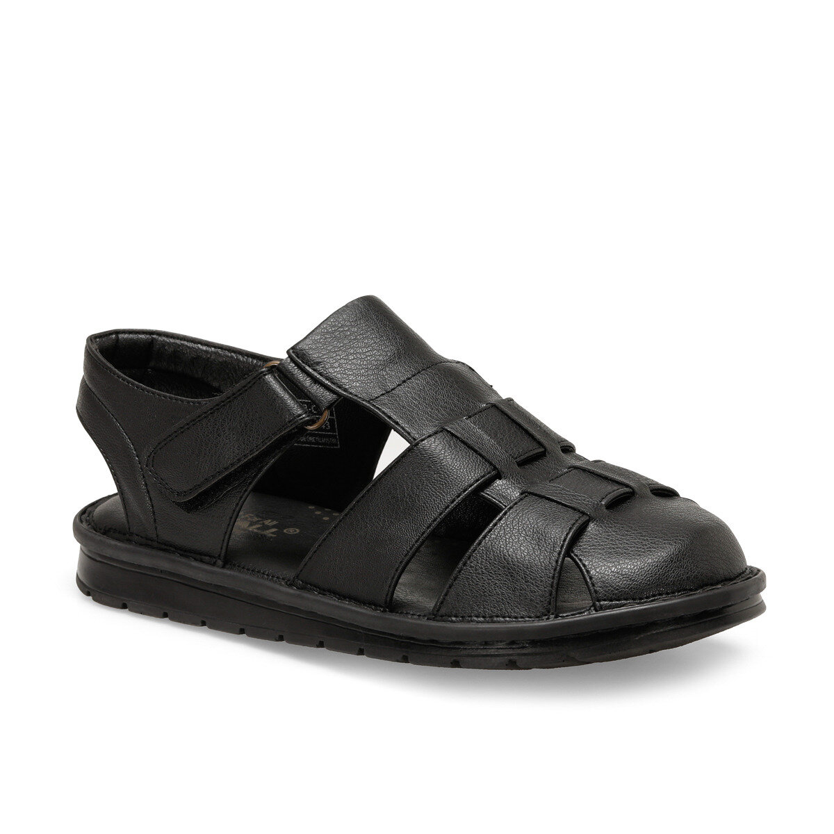 FLO 103 C Black Male Sandals Flexall