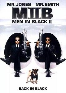 黑衣人2的海报