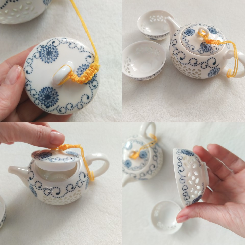 -- Porcelana Tangpin Chaleiras