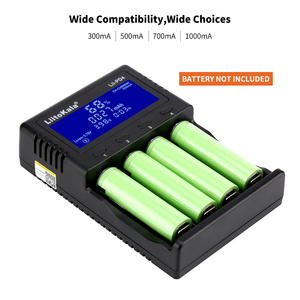 Image 4 - LiitoKala Lii PD2 Lii PD4 LCD Battery Charger For 21700 20700 18650 18350 26650 22650 14500 NiMH Battery Smart Charger