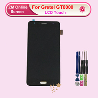For Gretel GT6000 LCD Display With Touch Screen New Original Tested OK Digitizer Assembly Replacement With Tools