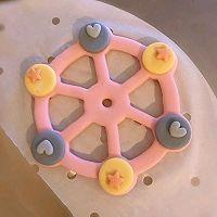 幸福摩天轮造型馒头的做法图解7