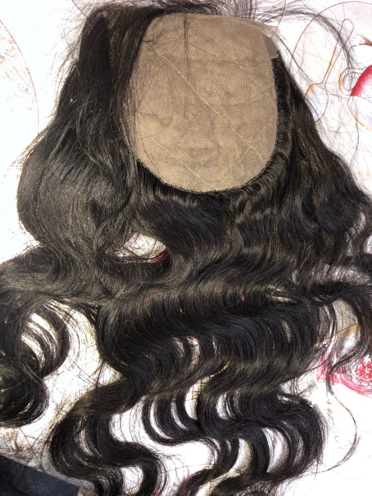 Human Peruvian Best Hair Wefts Body Wave 4 Bundles With Best Silk Closures photo review