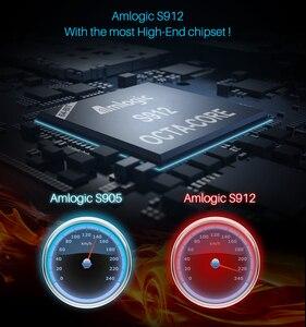 Image 4 - Mecool M8S PLUS L DDR3 GB RAM 16GB 2.4G WiFi Amlogic S912 H.265 HDR 10 Android Box Google chơi Miracast TV BOX