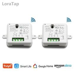 Tuya vida inteligente pequeno wifi soquete módulo interruptor de luz, app controle remoto, controle de voz, trabalho com o google casa echo alexa ifttt