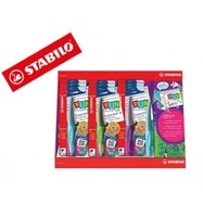 MARKER STABILO ROLLER FUN EXHIBITOR 9 UNITS