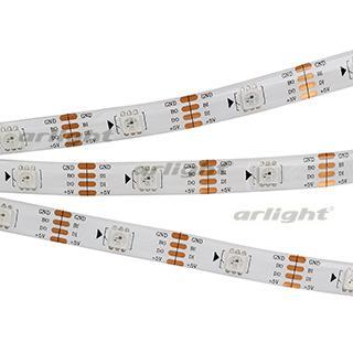 023817 Tape Spi-5000se-ram 5v RGB (5060, 150 Led X1, 2813) Arlight Coil 5m