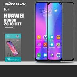 Nillkin dla Huawei Honor 20 10 Lite szkło CP + 2.5D pełny klej szkło hartowane zabezpieczenie ekranu dla Huawei Honor 20 Pro