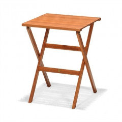 Kingsbury Garden Table/Folding Eucalyptus Wood-50021001175586