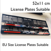 License-Plate-Frame Exterior-Accessories Special-Design Fiat ABS for Punto Eu-Size Abs-Material