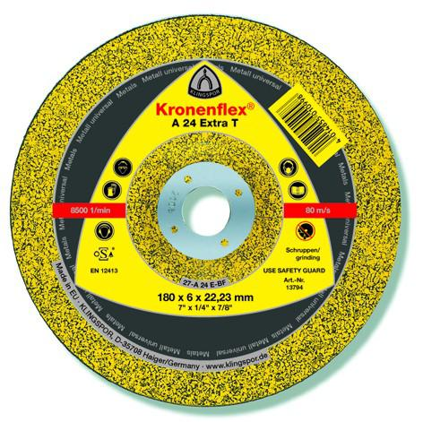 Circle Grinding KLINGSPOR 230х6х22мм 14A Pack 10 PCs