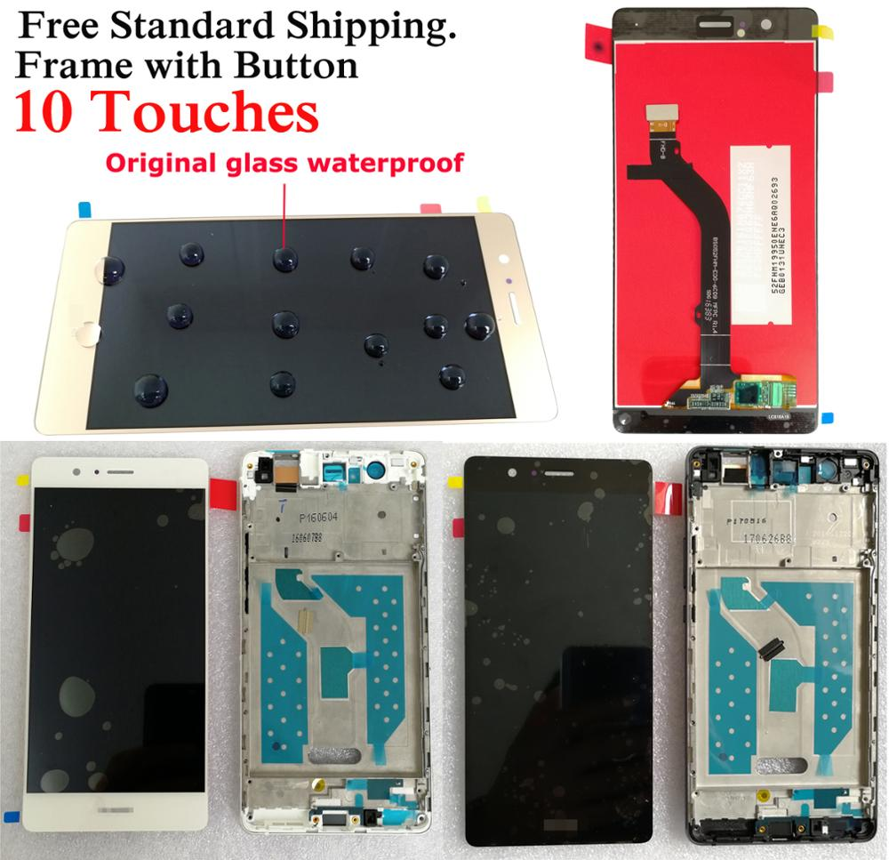 Shyueda 100% Orig New A+ Frame For Huawei P9 Lite VNS-L21 VNS-L22 VNS-L23 VNS-L31 VNS-L53 LCD Display Touch Screen Digitizer