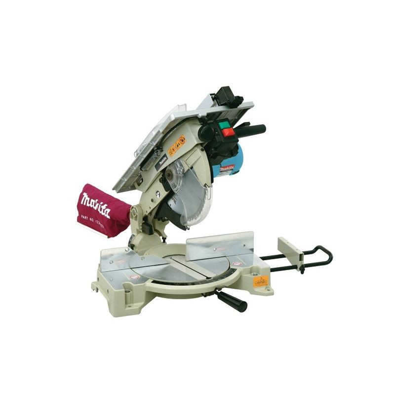 Miter Saw With 1.650W Table Light 260mm Makita