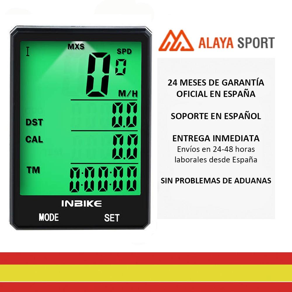 INBIKE-speedometer Odometer Wireless Multi Function, Waterproof, Stopwatch, Screen 2.8
