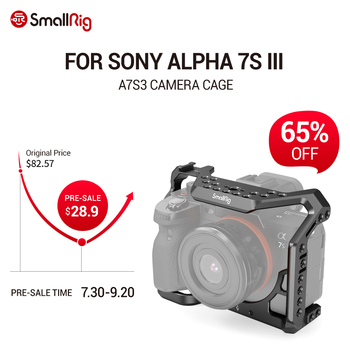 цена на SmallRig A7S3 DSLR Cage A7SIII Form-fitting Cage for Sony Alpha 7S III Camera Cage A7siii Cage Rig 2999