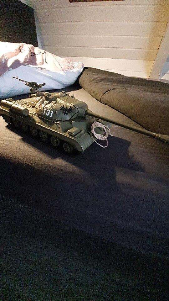 -- Tanque Pesado Montado