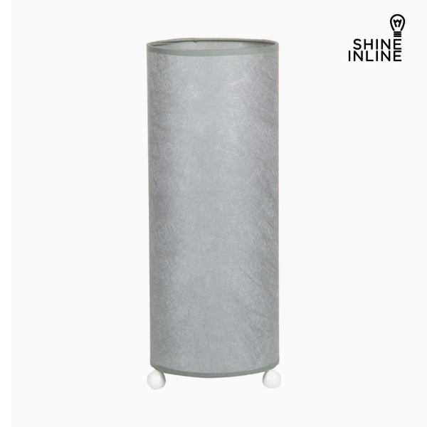 Desk Lamp Cellulose Silver By Shine Inline