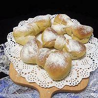 蝴蝶结面包的做法图解12