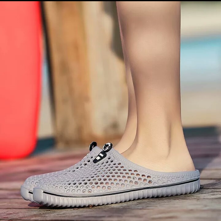Womens Summer Shoes Sandals Women's Mens Unisex Perfect Couples Hollow Out Holes Non slide Slippers Beach Outdoor Shoes|Slippers|   - AliExpress
