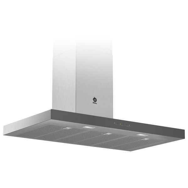 Conventional Hood Balay 3BC097GGC 90 Cm 710 M3/h 65 DB 255 W Anthracite