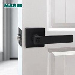 LH3008 ручка двери из нержавеющей стали с цилиндрическим замком, отполированная Передняя Задняя защелка, аксессуары для домашнего интерьера