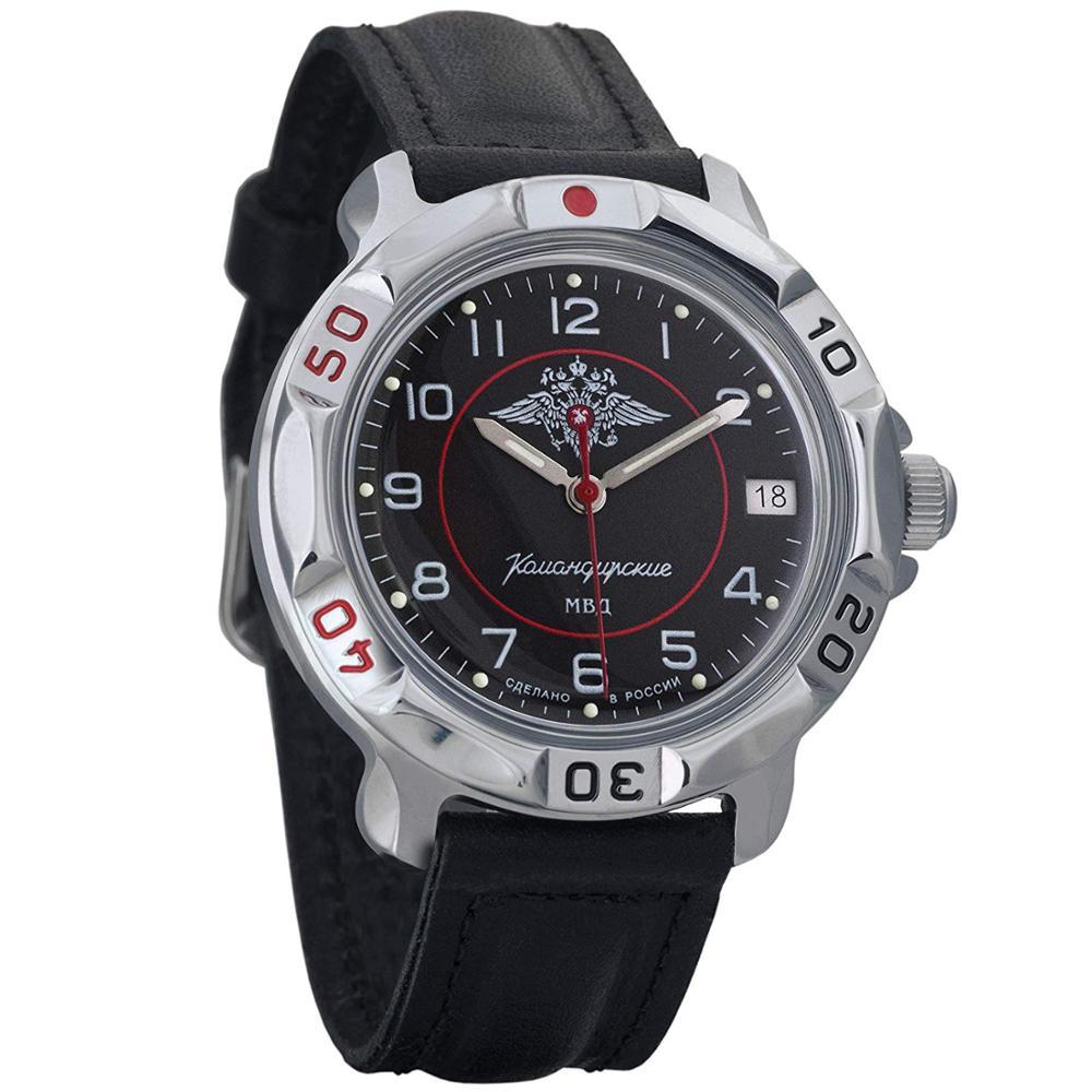 Vostok Komandirskie 811952 Mechanical Russian Watch Hand-winding минестрство Interior Mia Russia