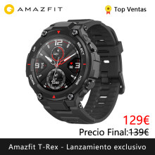 Lanzamiento exclusivo Amazfit T-REX Smart watch deporte exterior reloj inteligente xiaomi GPS bluetooth [Versión Global](China)