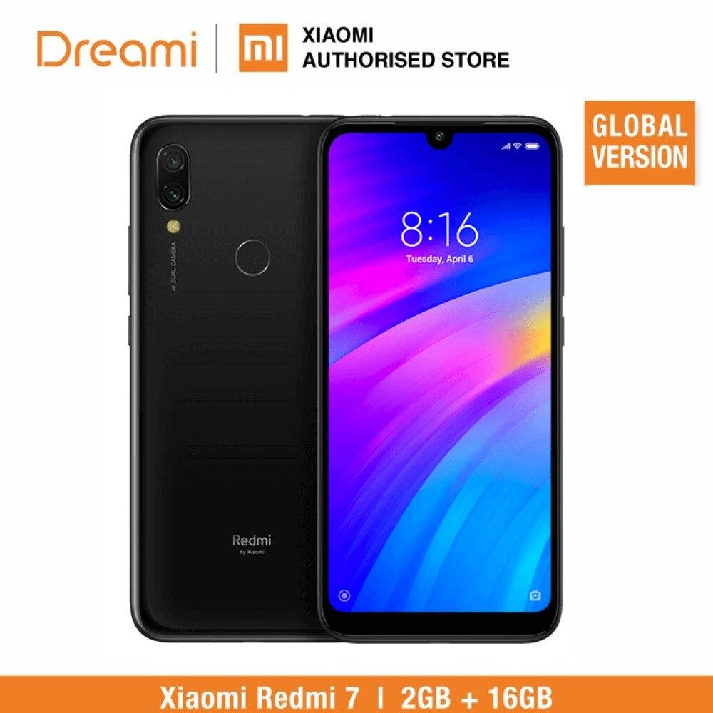 Global Version Xiaomi Redmi 7 16GB ROM 2GB RAM (Brand New and Official Rom) redmi7 16gb