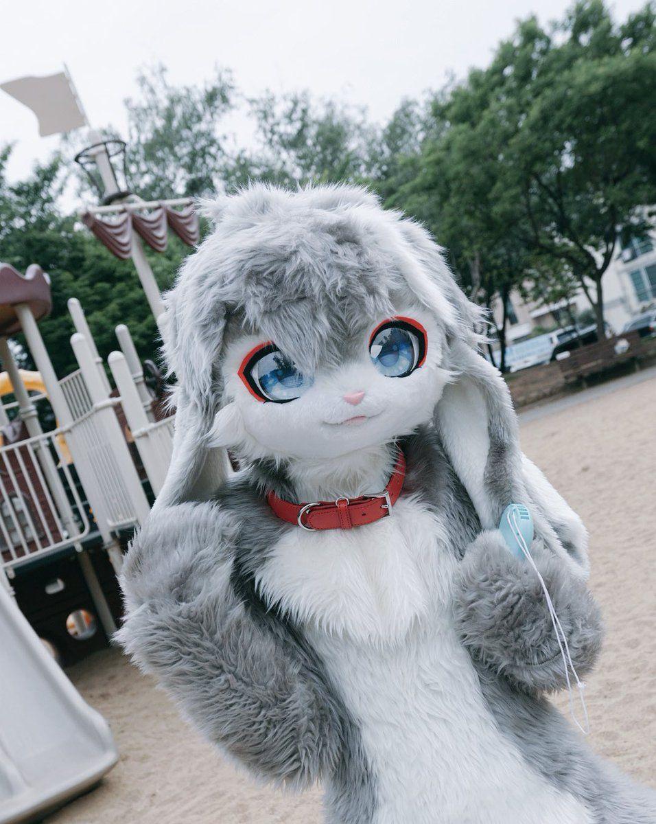 【恋绒】之二:毛绒兔子