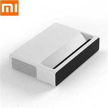 Xiaomi MIJIA Proyector láser corto versión Global 5000 lúmenes 150 pulgadas ALPD3.0 4K resolución 2,4 GHz 5,0 GHz Home Theater enchufe de EE. UU.