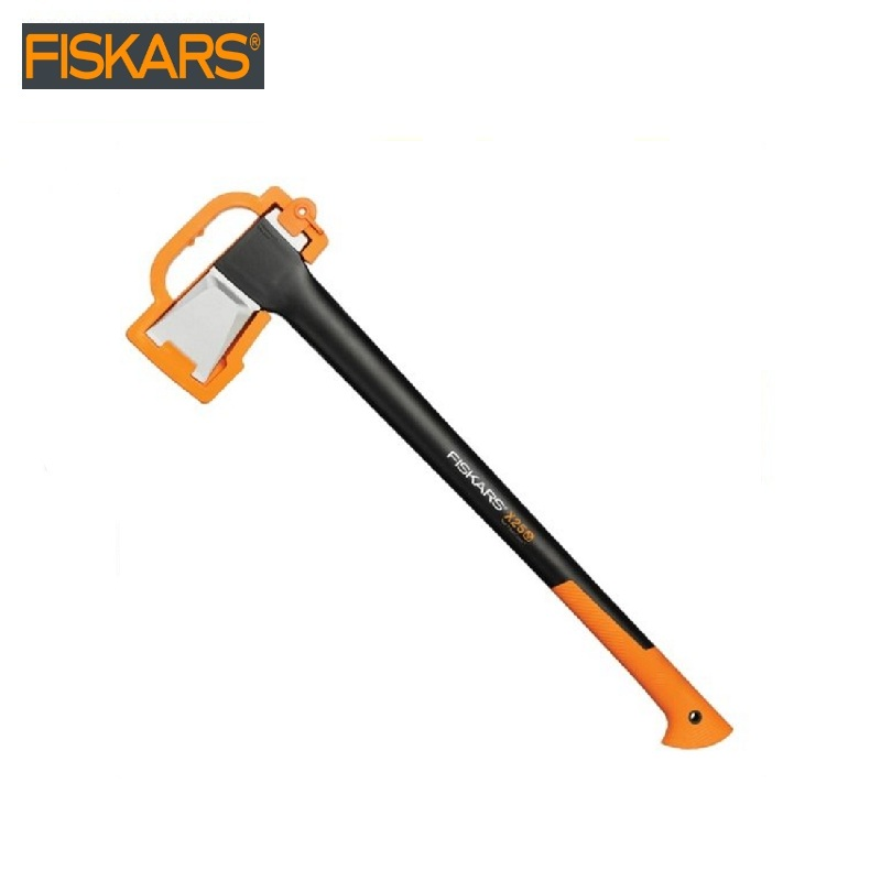 Pitch - hand Fiskars X25 (1015643) heavy harvesting  Woodworking tools tomahawk dividing ax survival